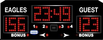Harris Time scoreboard HT1000